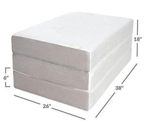 tri fold mattress