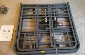 Folded Pragmatic Adjustable Bed Frame